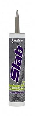 Sashco 16210 10.5 Oz Gray Slab Concrete Sealant 2 Pack