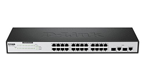 D-Link 26 Port 10/100 Unmanaged Switch including two Gigabit
