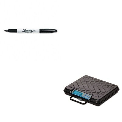 KITSAN30001SBWGP100 - Value Kit - Salter Brecknell Portable Electronic Utility Bench Scale (SBWGP100) and Sharpie Permanent Marker (SAN30001) by Salter Brecknell