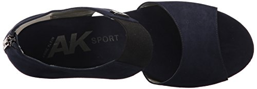 Fabric Navy Klein Sandal Wedge Womens Sport AK Anne Carisma 6FpBfx