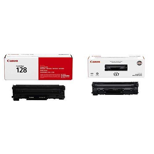 Toner Original CANON 128 - Black (3500B001AA) y 137 - Black