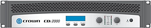 Crown CDi 2000 2-Channel Power Amplifier by Crown