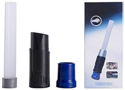 bleu Tuyaux d/'aspirateur Universel pour Air Vents//Claviers//Tiroirs//Voiture//Outils//Artisanat//Bijoux//Plantes Dust Brosse Accessoires Aspirateur