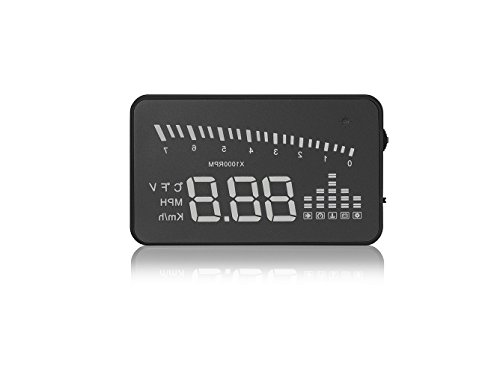 Arpenkin HUD X5 OBD2 3 Universal Multi-Function Vehicle-Mounted Heads up Display for Cars Windshield Compatible with OBD II EOBD System Model Cars