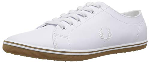 Fred Perry Men Kingston Leather Sneaker White