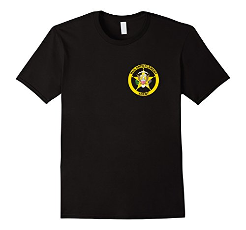 Bail Enforcement Agent T-Shirt for Fugitive Bounty Hunters]()