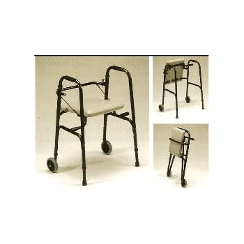 Amazon Com Rolling Walker With Autofold Retractable Seat