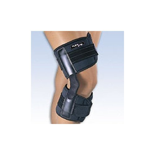 Fla 37-1082LBLK Flexlite Hinged Knee Brace, Black, XX-Large