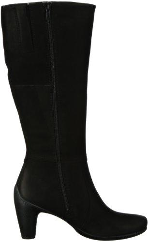 Ecco ECCO SCULPTURED 65 233523 - Botas fashion de cuero nobuck para mujer Negro (Schwarz (Black/ Nubukleder 02001))