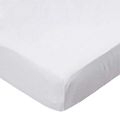 - SheetWorld Fitted (Fits BabyBjorn Travel Crib Light) Sheet - Organic White Jersey Knit - Solid Colors