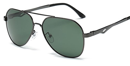Premium Full Mirrored Classic Aviator Polarized Metal UV 400 Fashion - Sunglasses Hut Singapore