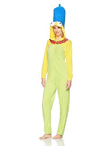 Marge Simpson Hoodie Footie Onsie -