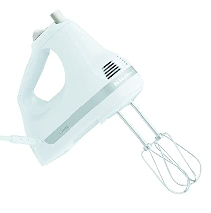 Amazon Com Kitchenaid Khm5apwh White 5 Speed Ultra Power Hand Mixer