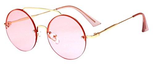 marée soleil mode HD de soleil lunettes unisexe ultraviolet rondes anti Polaroid lunettes lunettes de Color5 JYR nCXYpFwqX