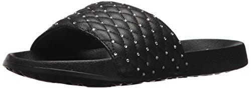 Skechers Womens 2nd Take-rodéo Dr Slide Sandale Noir