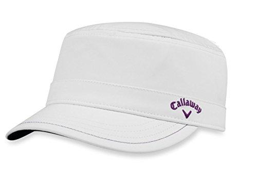 Callaway Golf 2018 Women's Cadet Adjustable Hat, White/ - For Hats Callaway Golf Women