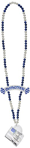 Beistle 57268 Beads with Oktoberfest Mug and Banner Bead, 39-Inch