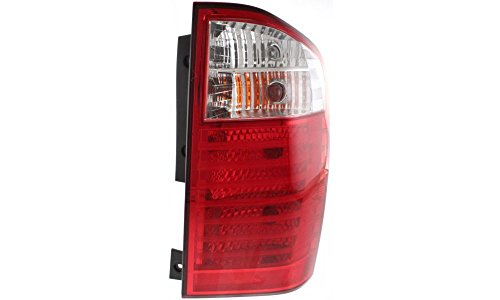 Evan-Fischer EVA15672027919 Tail Light for Kia Sedona 06-09 RH Assembly EX/LX Models Right Side Replaces Partslink# KI2801130
