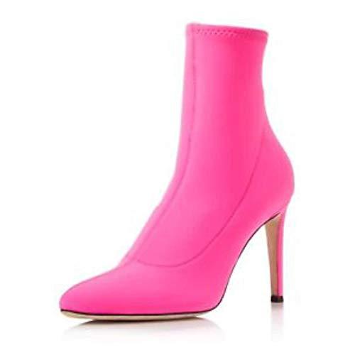 - GIUSEPPE ZANOTTI Womens Bimba Strech Neoprene Sock Fabric, Rosa, Size 5.5