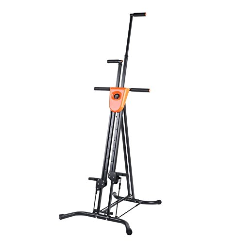 vertical climber climbing machine body exercise home fitness home gym fitness workout machines for home stepper cardio stepper +2 Straps Total Body Workout Climber Machine, 4 options LCD Counter
