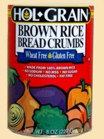 Hol Grain, Breadcrumb Brown Rice, 10-Ounce (6 Pack) (Brown Rice Bread Crumbs compare prices)