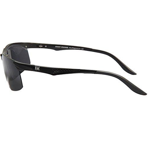 lentes Aluminio Orange Ciclismo Sol Libre al de Hombres Gafas Jimmy Alta Mujeres marco negro Aire negras Calidad de Gafas de JO671 Conducción Polarizado Magnesio deSol 5d1qqxYpw