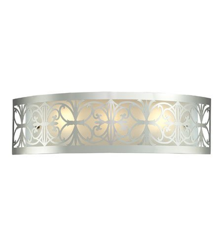 ght With Polished Chrome Finish Medium Base 25 inch 180 Watts - World of Lamp (Oakland Bath Fixture)