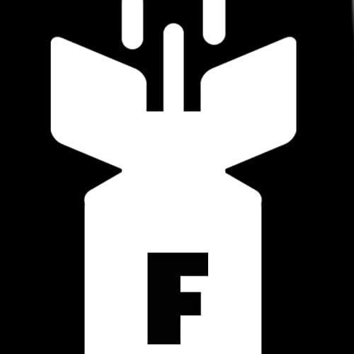 F-Bomb Ties Mens Profanity Funny Necktie by Three Rooker