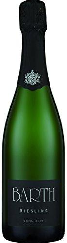 Wein- und Sektgut Barth Hattenheim Riesling extra Brut Rheingau Sekt b. A. (3 x 0.75 l)