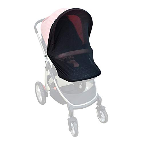 Bayan Stroller Sunshade Car Seat Sun Shade Bassinet Playpen Crib Stroller Net-Nice Visiblity and Air Permeability - Uv Rayshade Protection