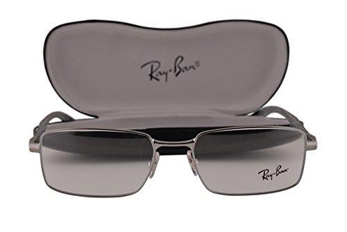 Amazon.com: Ray-Ban rx8414 Eyeglasses 55 – 18 – 145 Gunmetal ...