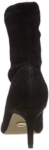 Buffalo Fabric Elastic Women's Black Boots Black Ankle Sterling 00 01 rtqABpt