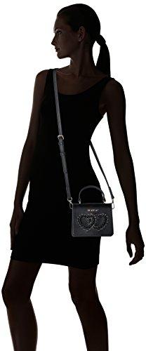 Calf H 13x18x10 D Nero Schwarz Pu black l Borsa Donna Moschino Baguette Cm X Borse Love qRwEZU6W
