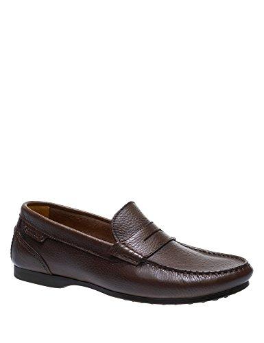 Sebago Men's Trenton II Penny Leather Loafers Brown La Salida Más Reciente fcJXqi