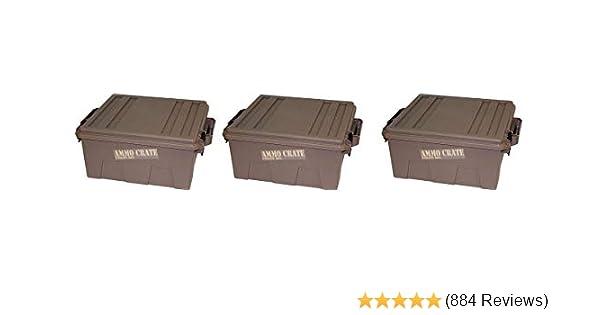 MTM ACR12-72 MTM Ammo Crate Utility Box-Dark Earth