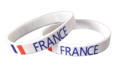 (France - Silicone Wristband)