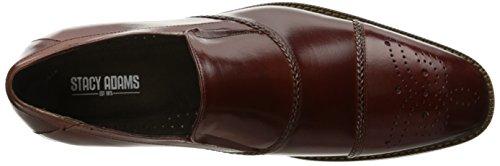 Stacy Adams Mens Brecklin Cap Toe Slip-on Mocassin Cognac