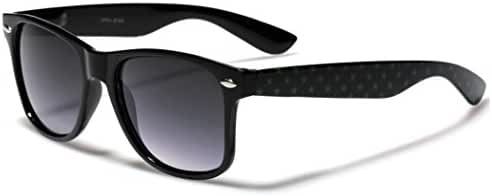 Retro Fashion Sunglasses Star Frame Pattern