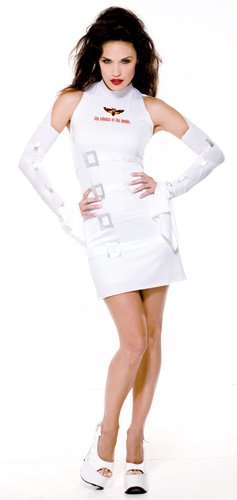 Sexy Lamb Costumes (Adult Sexy Silence of the Lambs Costume Size Small (4-6))