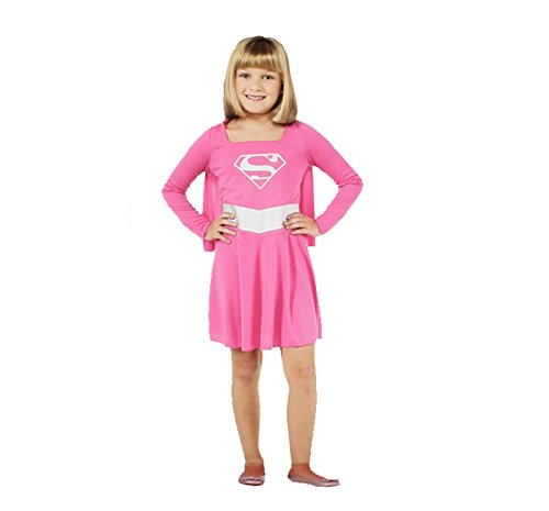 [Rubie's Pink Supergirl Child Costume, Size Small (Small)] (Supergirl Costumes Pink)