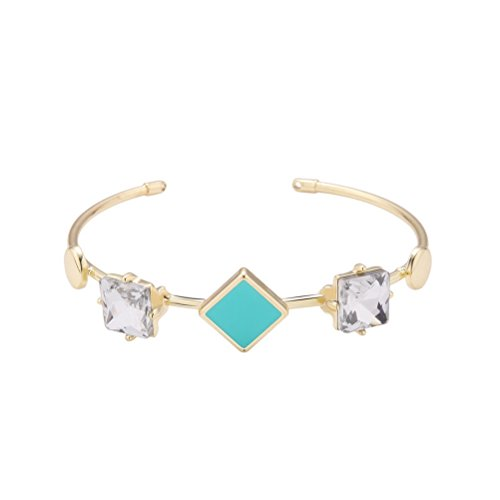 Troll Costume Uk (Superhai Simple Fashion Diamond Shaped Openings Bracelet Female Birthday Gift)