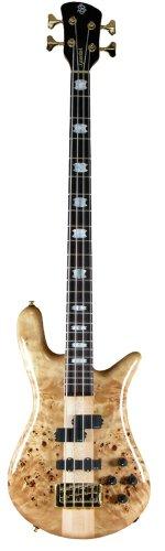 Spector Euro4LX EX Bass Guitar (Poplar Burl, Clear Gloss) (Spector Euro Bass)