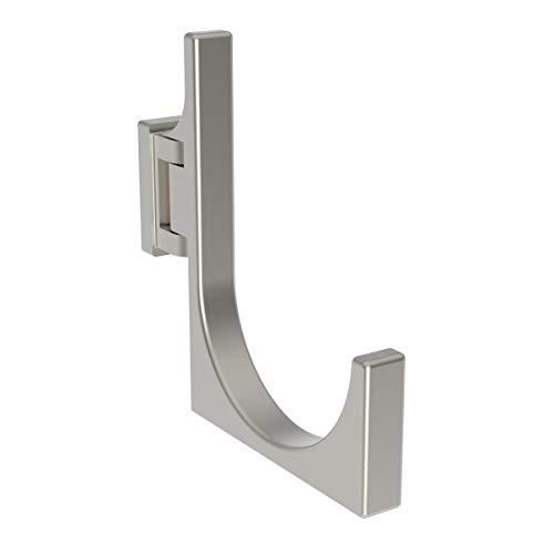 Ginger Nickel Towel Bar - Ginger 3005/SN Frame Pivoting Towel Hook, Satin Nickel, Robe