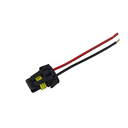amazon com feeldo auto 9006 hb4 female adapter wiring harness nylon rh amazon com