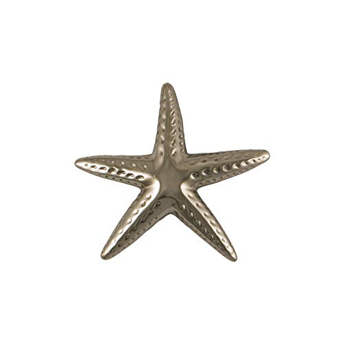 Starfish Door Knocker - Nickel (Standard Size)