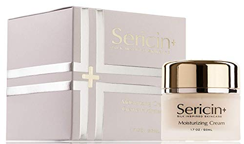 Sericin Plus Moisturizing Cream - Rejuvenates Skin with Silk Enriched Protein that Nourishes, Hydrates, and Moisturizes Skin Feel Silky Smooth and Soft, Promote Cell Regeneration SN2 (1.7 oz)