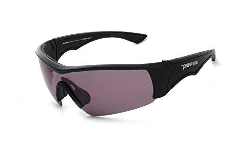 Pepper's Men's Mako Polarized Rimless Sunglasses, Matte Black, 123 - Sunglasses Mako