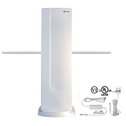 ANTOP Outdoor TV Antenna with VHF Enhanced and Smartpass Amp