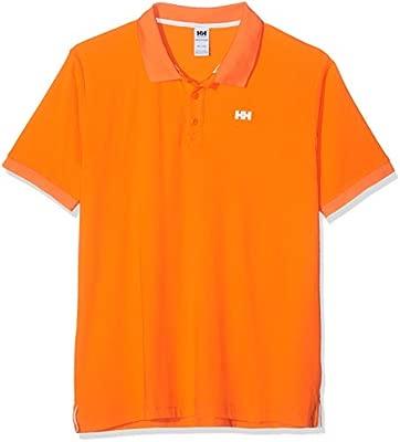 Helly Hansen Driftline Polo, Polo para Hombre, Naranja (Naranja ...