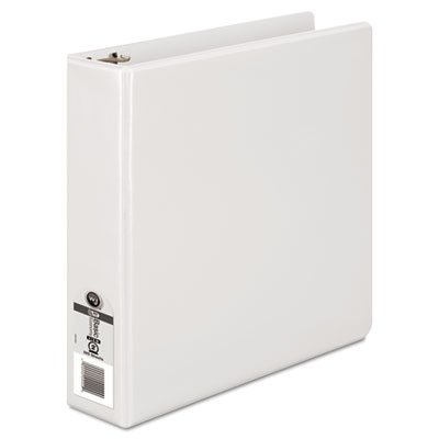 362 Basic Round Ring View Binder, 2'' Capacity, White, Sold as 1 Each 2' Capacity White